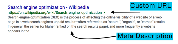 SEO-meta-description-custom-url