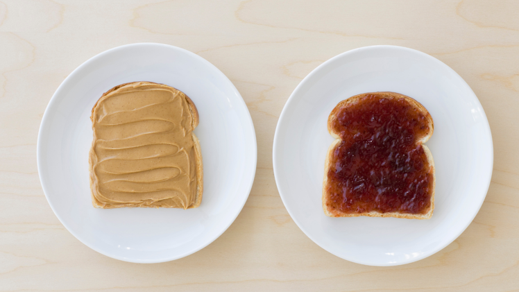 Buyer personas & inbound marketing | Peanut Butter and Jelly on bread