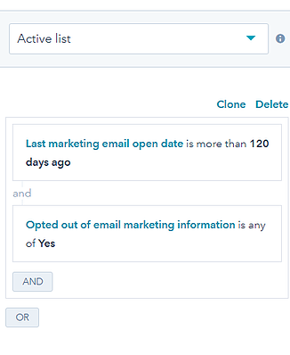 Clean Email List Database