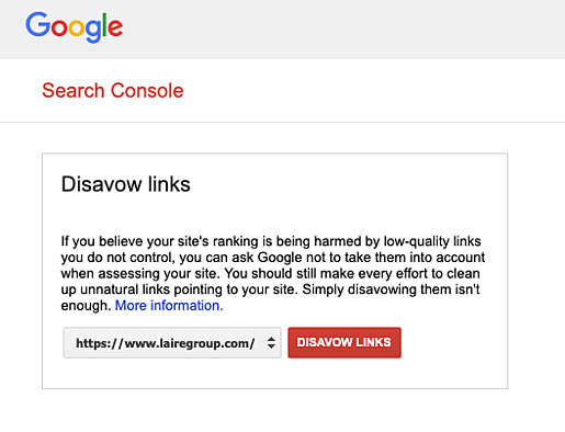 How to Disavow Bad Links on Google