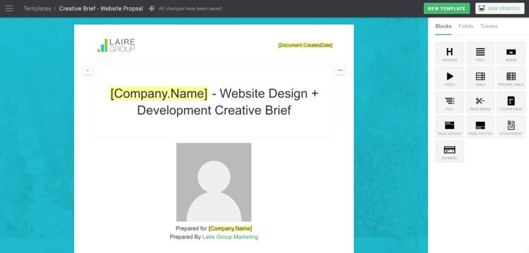 PandaDoc Template Snapshot | PandaDoc & HubSpot | Sales Process