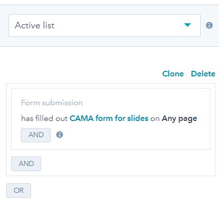 Slide Download HubSpot List