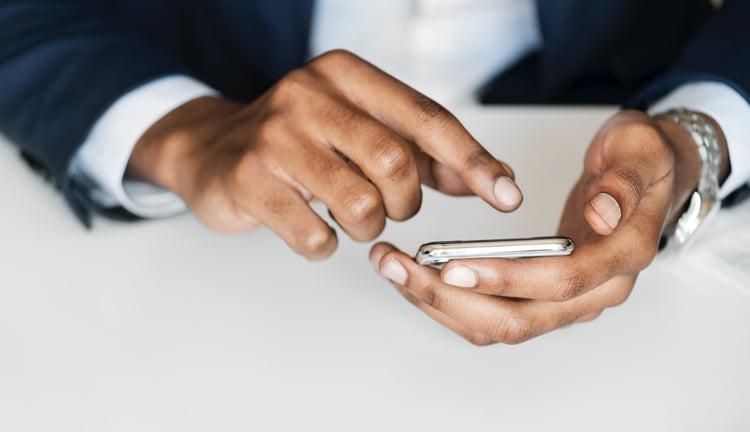 bad website sign - not mobile-friendly