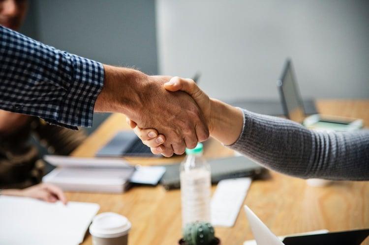 construction marketing tip #8 - establish partnerships