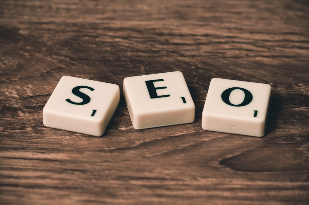 search engine optimization (SEO) - SEO letters on table-1