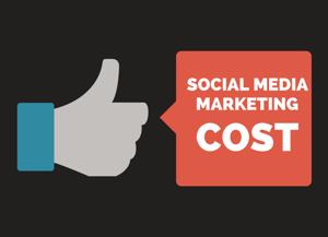 small business social media marketing cost