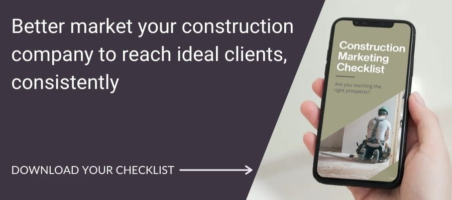 Click to get your construction checklist!