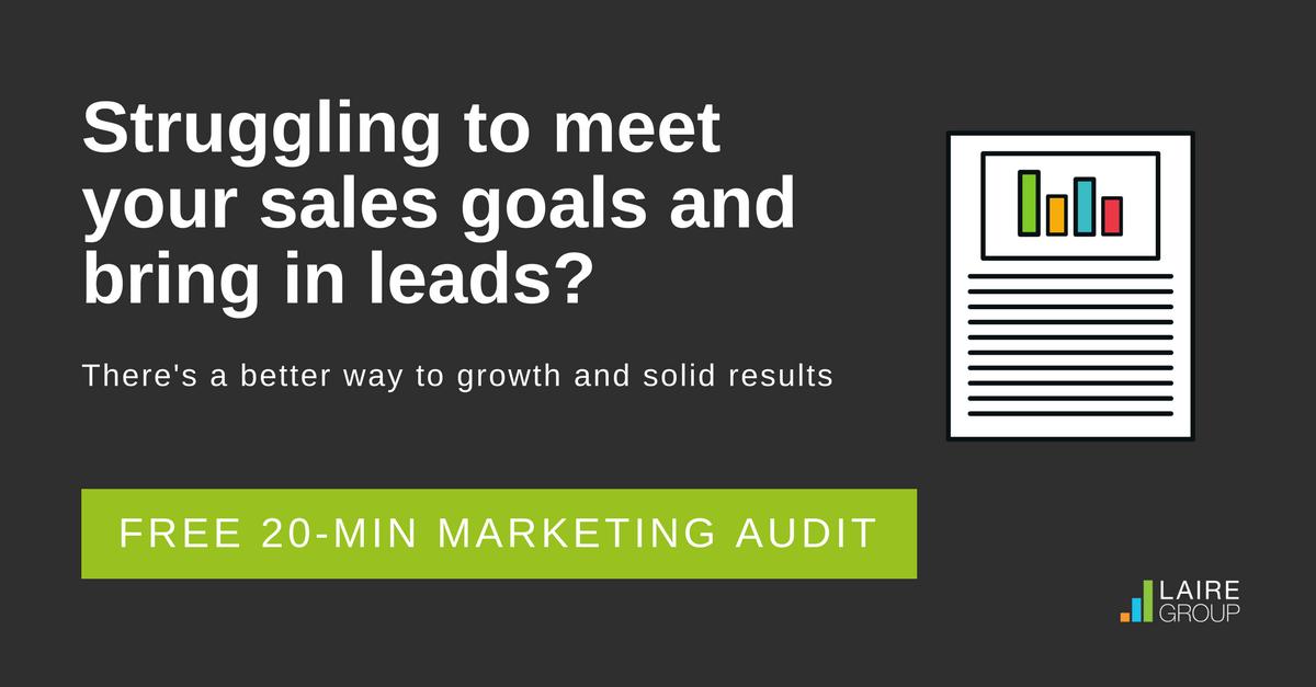 Marketing Audit CTA